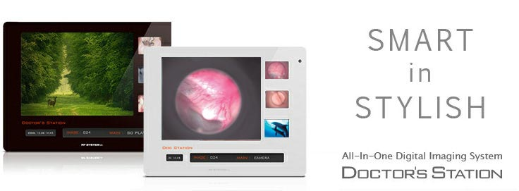 RFSYSTEMlab wireless ALL-In imaging system - Doctor's Station